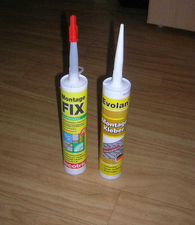 Montage Fix Kraftkleber - 400g - lösungsmittelfrei X 2 NEU - Abdichten & Isolieren - Bild 1