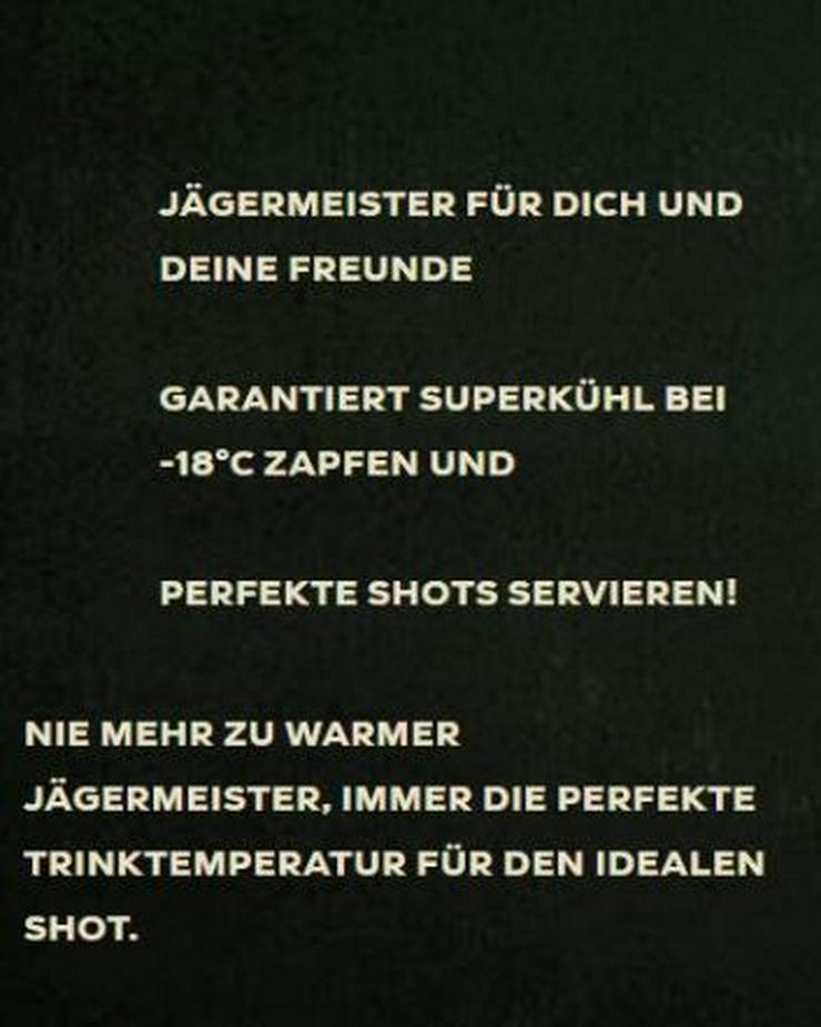 Bild 5: Jägermeister Shot Machine - Das ideale Geschenk für Sie und Ihn  - Neu und Original verpackt - Party