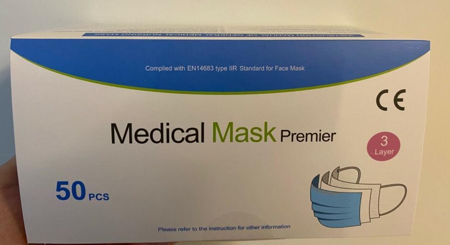 Medizinische OP-Masken(Typ II R, 50 Stk.)