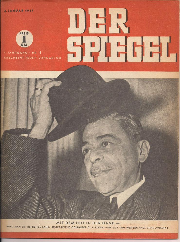 """Erstausgabe """"Der Spiegel"""" 6. Januar 1947"""