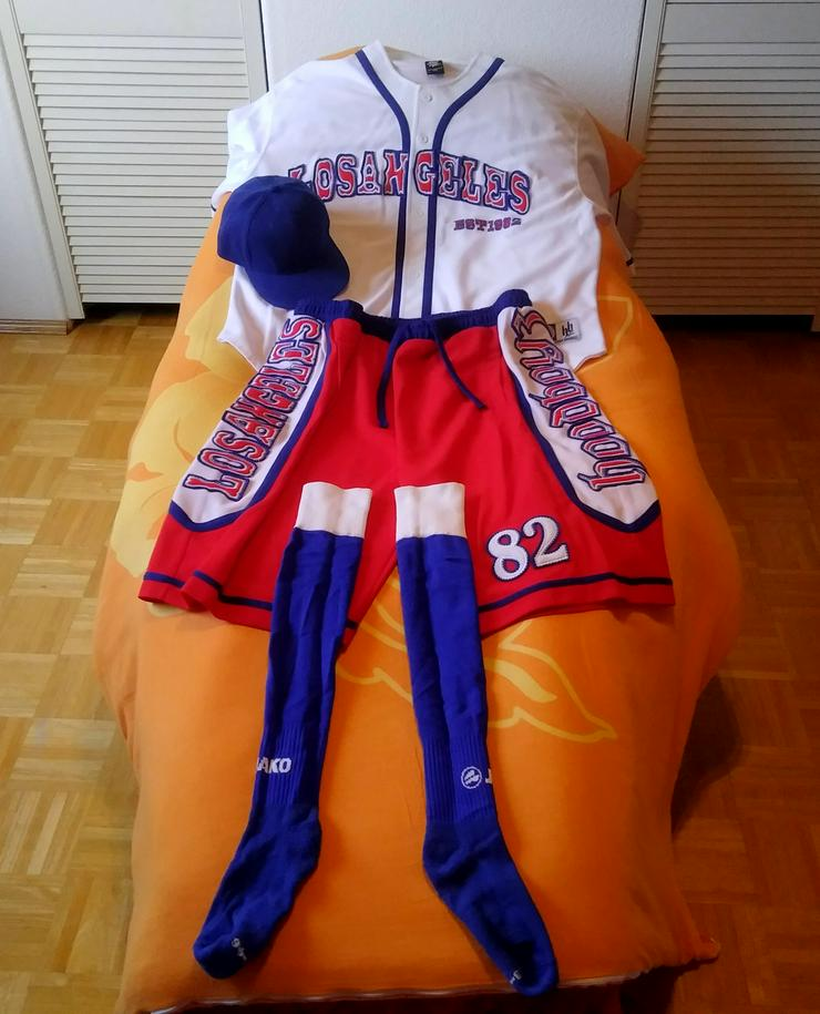 Hoodboyz Luxury Baseball Suit Los Angeles 4-teilig - Größen 60-62 / XXL - Bild 1