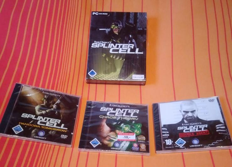 Tom Clancy's Splinter Cell Teil 1-4