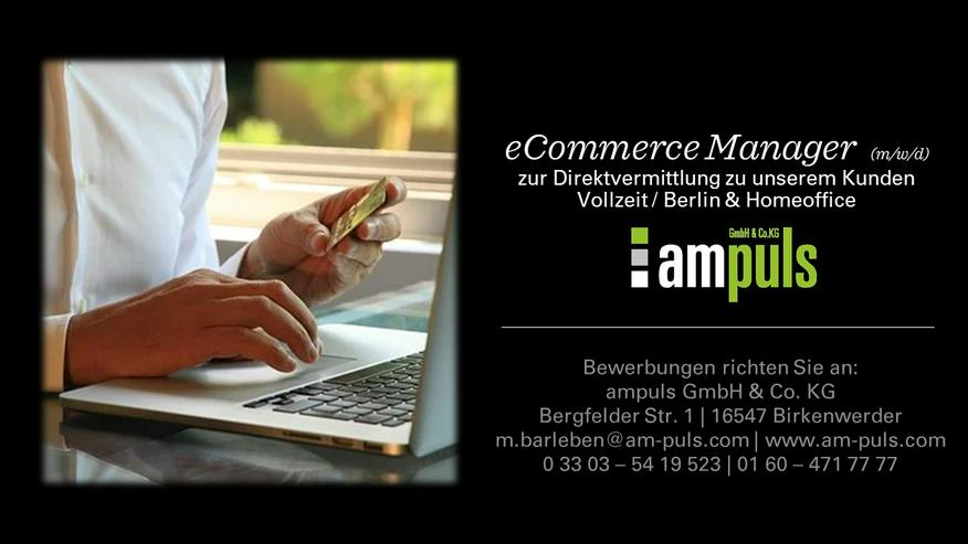 eCommerce Manager (m/w/d)