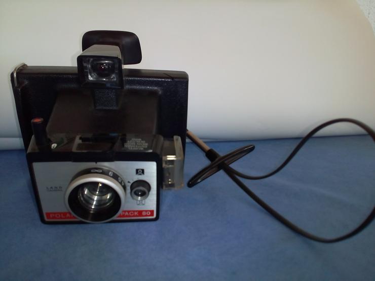 Polaroid Colorpack 80 Land Camera Sofortbildkamera, Tasche,wenig benutzt
