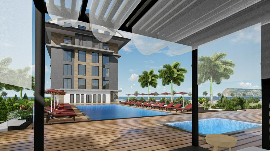 Bild 3: Türkei, Alanya. 1.Reihe am Strand. 3 Zimmer Wohnung. 446-3