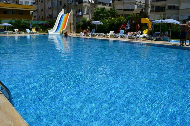 Türkei, Alanya, möbl. 3 Zi. Wohnung, ein wenig Meerblick, 406 - Ferienwohnung Türkei - Bild 1
