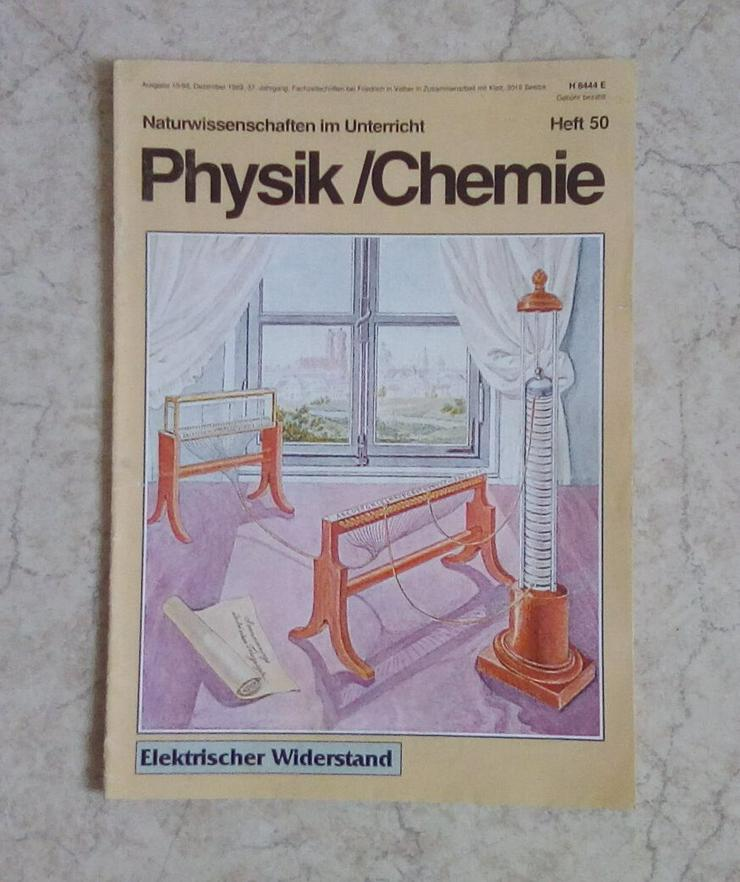 Bild 2: Sammlung Zeitschriften Naturwissenschaften im Unterricht Physik