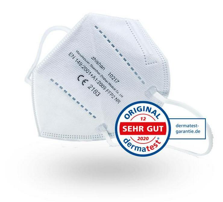 ab 0,36€ ✅6 er Pack✅ TÜV Rheinland ✅ FFP2 Maske Zhi Shan✅Zhishan
