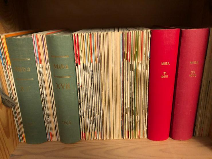 Modelleisenbahn MIBA-Sammlung verschiedene Jahrgänge