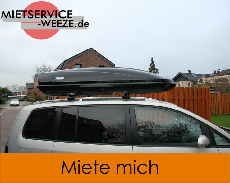Thule Motion XL 800 Dachbox Dachkoffer zu vermieten 45€/7Tage