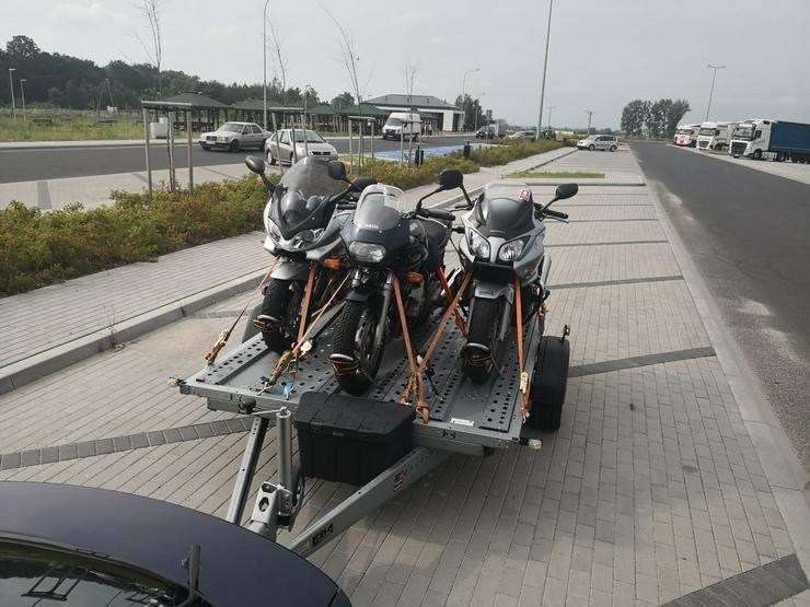 Motorradanhänger zu vermieten 2-3er,100 km/h, 1.3T - Motorradanhänger - Bild 1