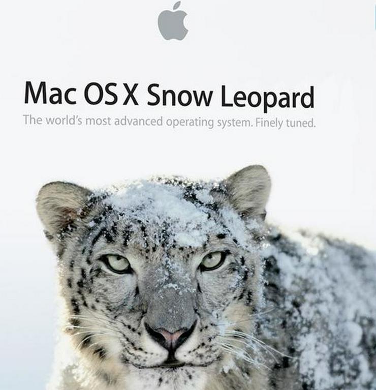 Install MacOS 10.6 Snow Leopard (Boot- und Installationsstick)