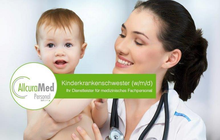 Kinderkrankenschwester (w/m/d)
