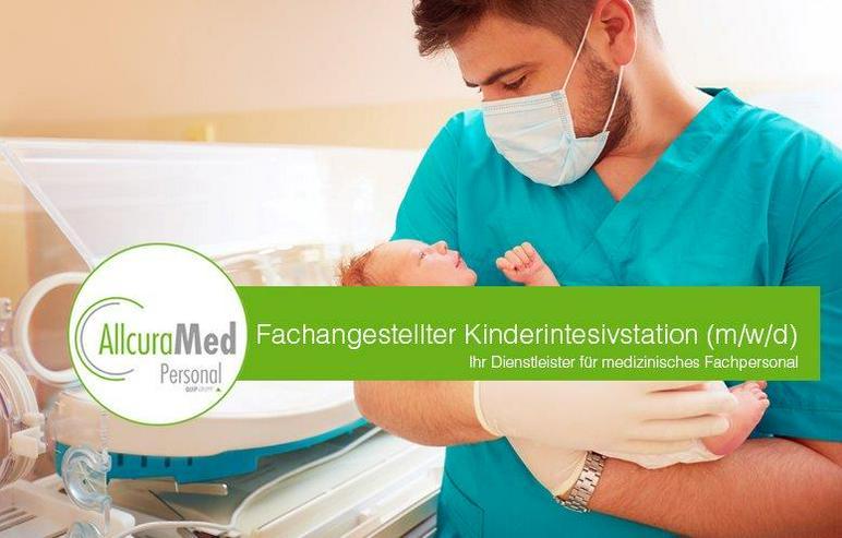 Kinderkrankenschwester für die Intensivstation (w/m/d)