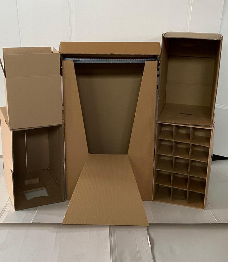 Gläserkarton 30 Fächer (57 x 35 x 40) für 4€