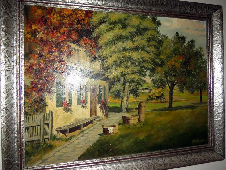 Altes Ölgemälde Kennt jemand diesen Maler ???
