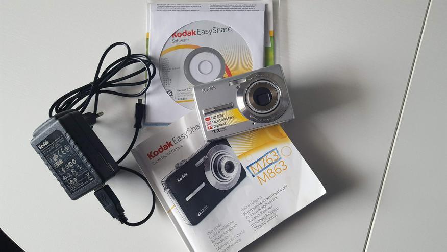 KODAK Easy Share-Zoom- 7,2 MP Digitalkamera - Silber - Digitalkameras (Kompaktkameras) - Bild 1
