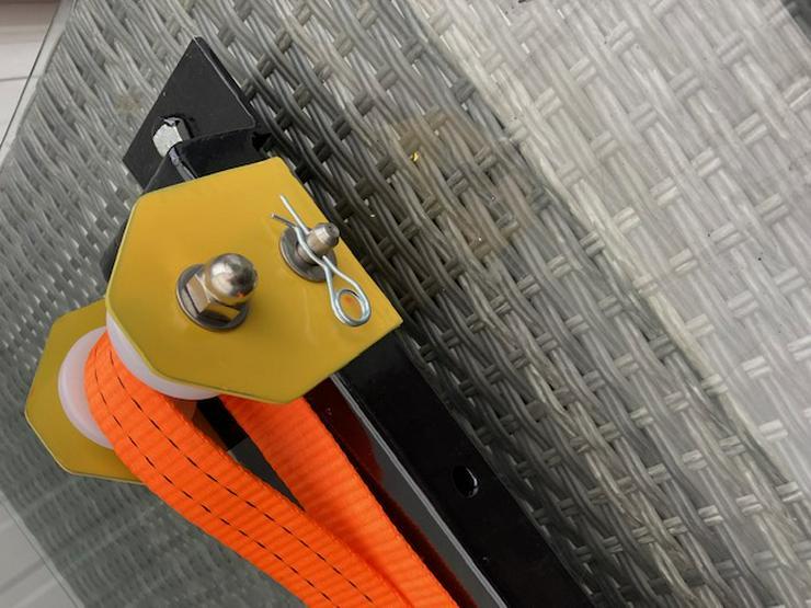 Bild 3: Elektrischer Fahrradaufzug Fahrradseilzug   Deckenlift Rolleraufzug