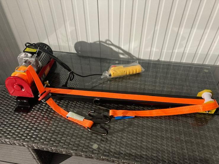 Elektrischer Fahrradaufzug Fahrradseilzug   Deckenlift Rolleraufzug - Zubehör & Fahrradteile - Bild 1