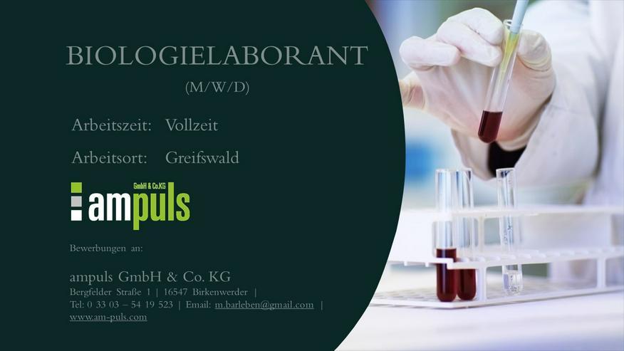 Biologielaborant (m/w/d)