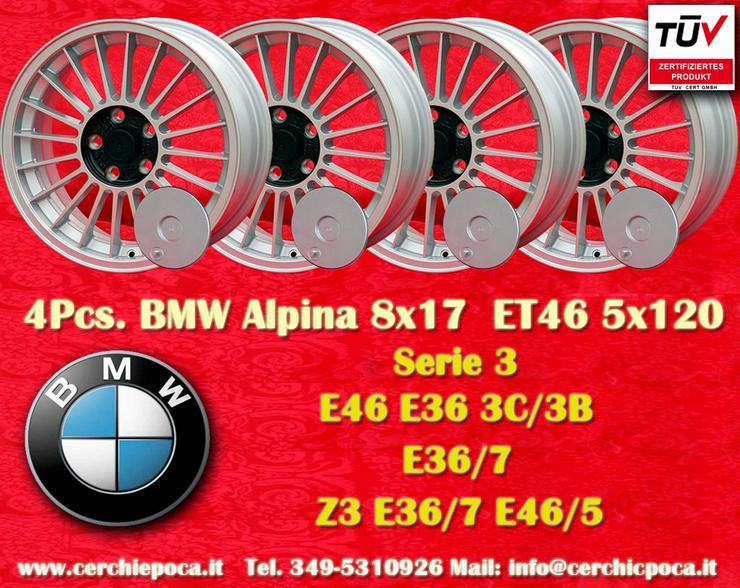 1 Satz. 4 Stk. 8x17 ET46 BMW Alpine Z3 E36 E46