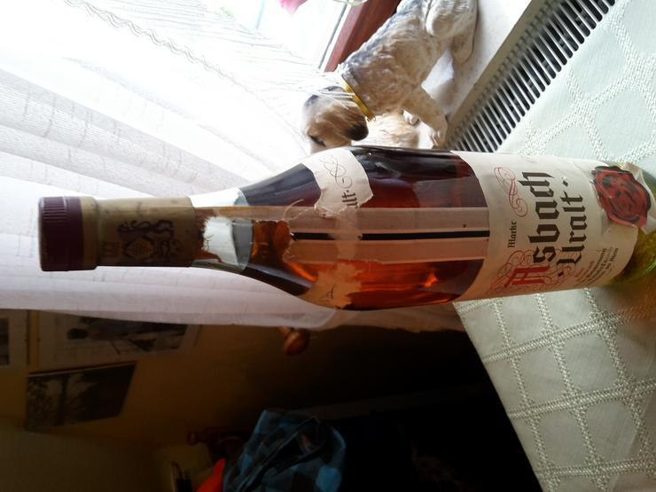 Bild 2: 3 L Flasche Asbach Uralt ungeöffnet ca 38-40 Jahre alt