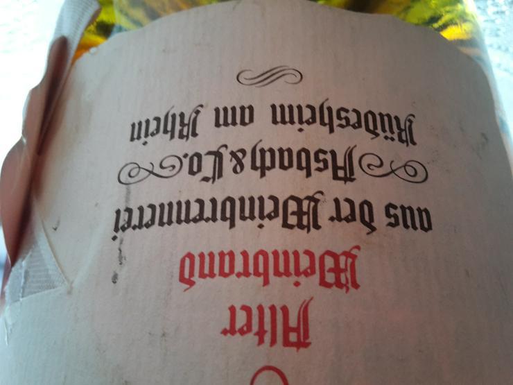 Bild 3: 3 L Flasche Asbach Uralt ungeöffnet ca 38-40 Jahre alt