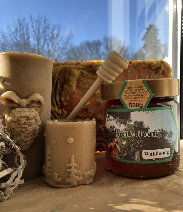 Bild 4: Honig aus eigener Imkerei
