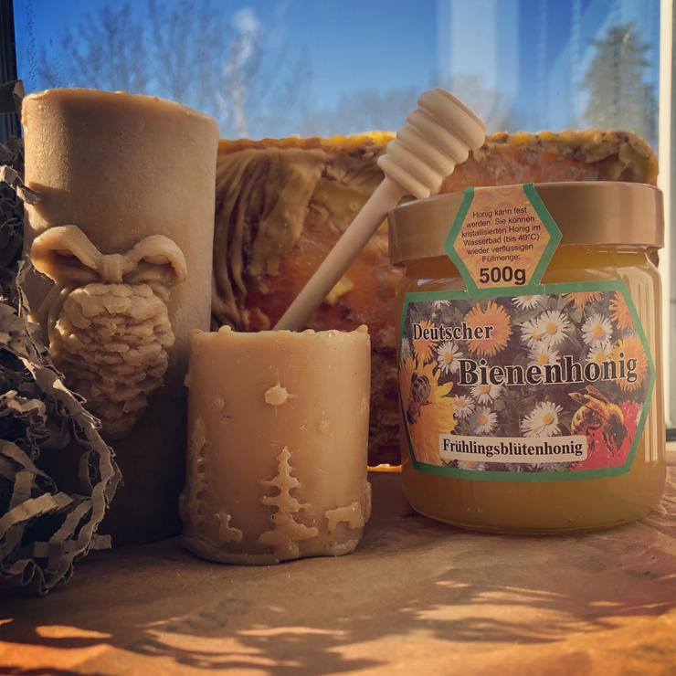 Bild 3: Honig aus eigener Imkerei