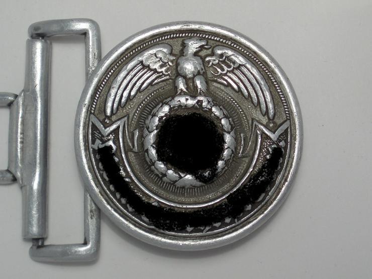 Feldbindenschloss SS aus Wk2, RZM 36/40SS Olc