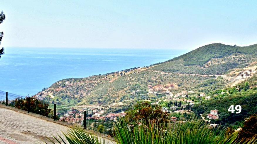 Türkei Alanya, sehr günstige möbl. Villa mit Meerblick,  049