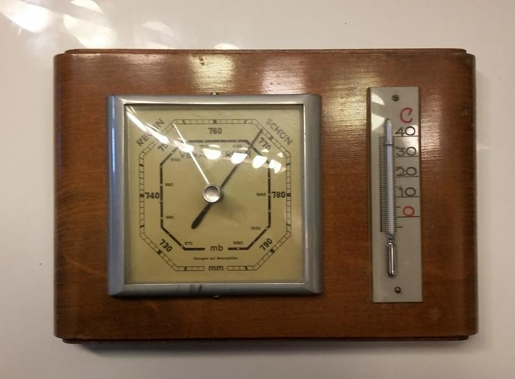 Barometer vom Feingerätewerk Fischer Erzgebirge, DDR-Nostalgie