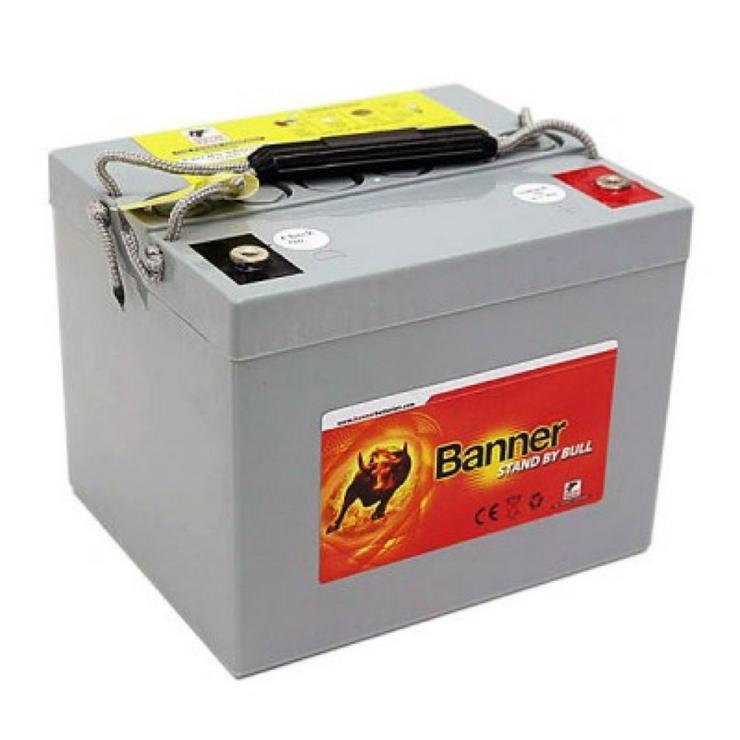 2 fabrikneue Batterie BANNER SGB12-80 u. a. für E-Rollstühle