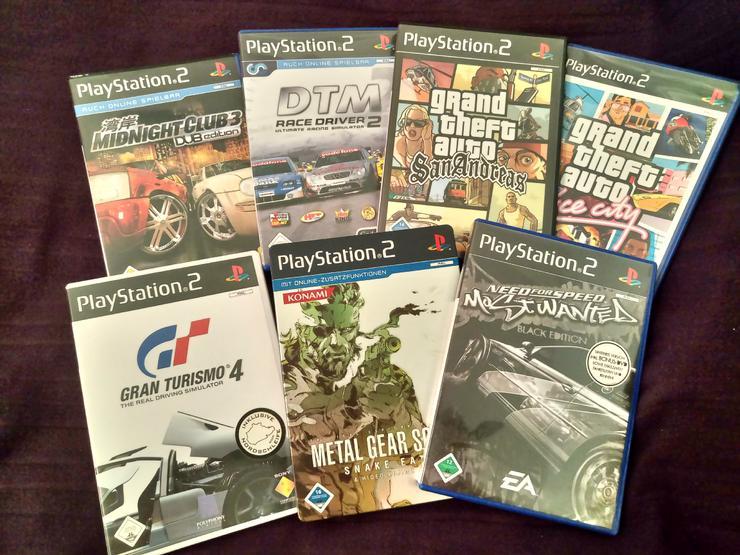 Sony Playstation2 Spiele