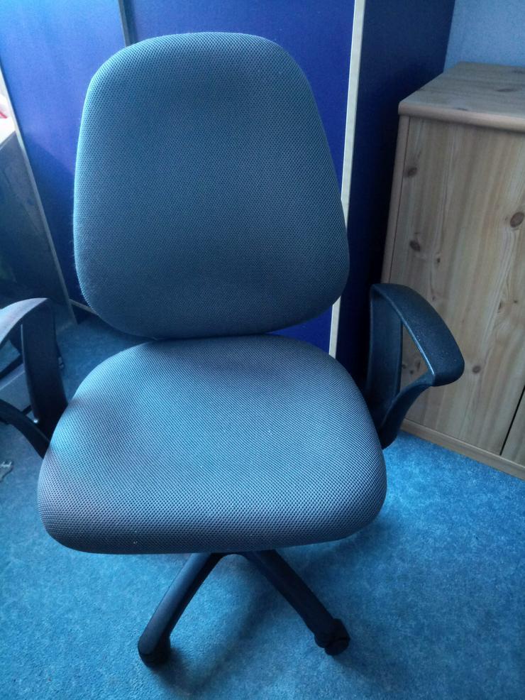Höhenverstellbarer  Bürodrehstuhl - Bürostühle - Bild 1