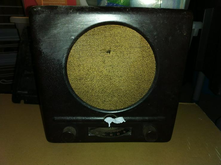 Deutscher Kleinempfänger DKE38 Göbbelsschnauze Radio