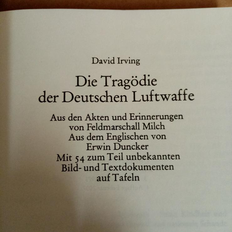 Bild 2: Die Tragödie der Deutschen Luftwaffe.