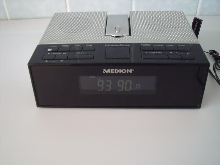 Digital Wecker Medion Zeitanzeige Elektronische Uhr 220 v.