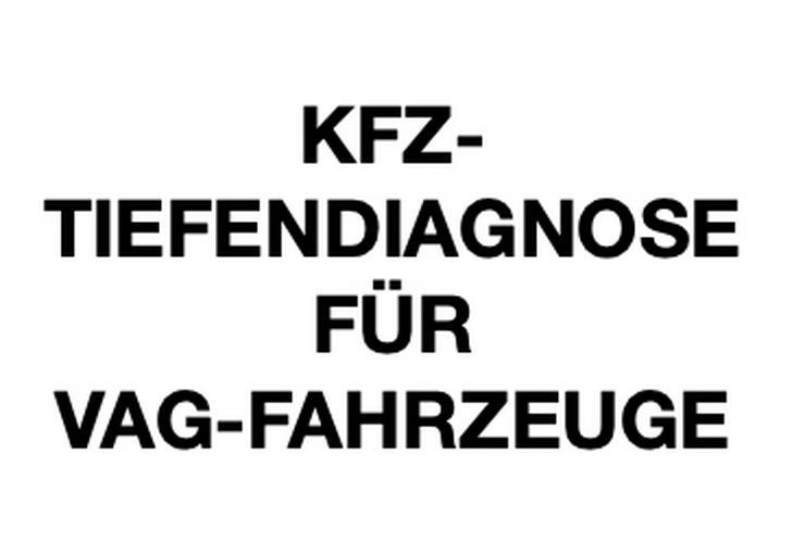 KFZ-TIEFENDIAGNODSE FÜR VAG-FAHRZEUGE - Werkzeuge - Bild 1