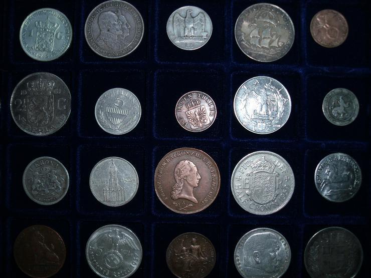 Bild 3: Münzen Welt mit antiken Münzen Konvolut Lot Sammlug