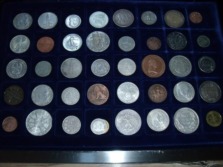 Münzen Welt mit antiken Münzen Konvolut Lot Sammlug - Deutsche Mark - Bild 1