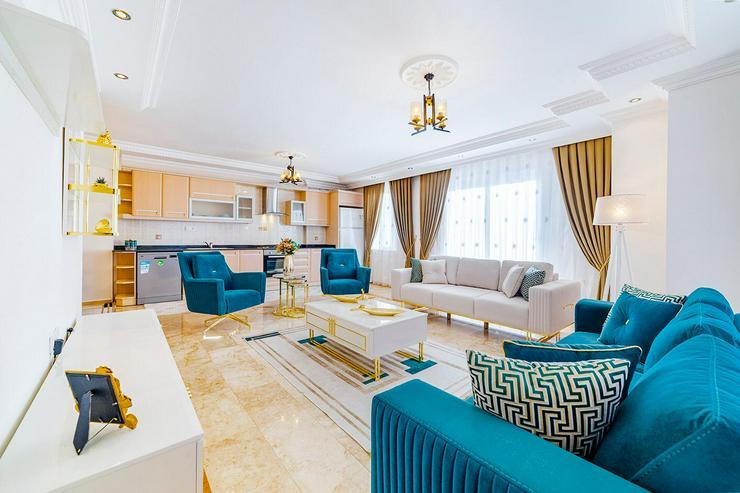 Türkei, Alanya, 3 Zi. Wohnung mit ein wenig Meerblick, 415  - Ferienwohnung Türkei - Bild 1
