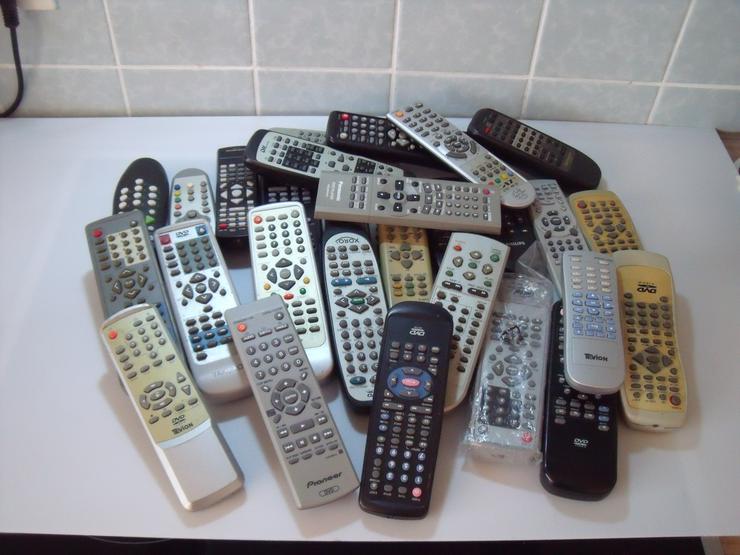Fernbedienungen Ca 65 St TV, Video, Audio, DVD ,Receiver, Fernseher.