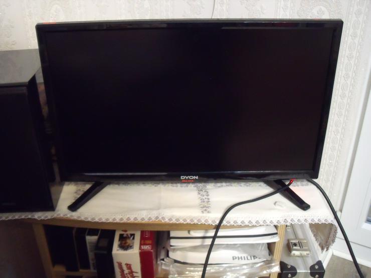 Fernseher Dyon Live 24 c, LED Fernseher, 60 cm, + DVD Player,Sony.