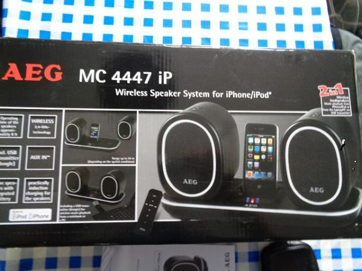AEG MC 4447 iP Lautsprecher System OVP