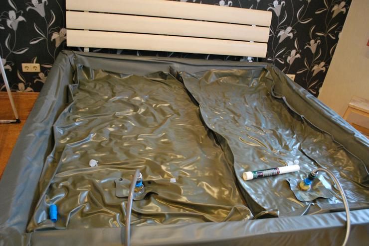 Bild 5: Softside-Wasserbett, 200x200 cm