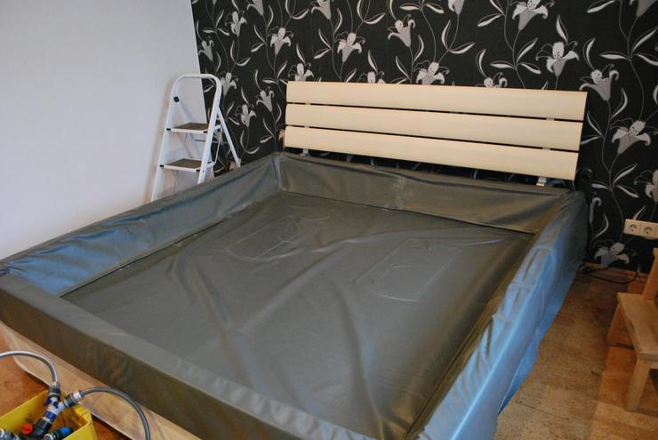 Bild 6: Softside-Wasserbett, 200x200 cm