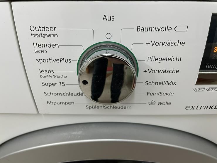 Bild 4: Siemens iQ500 ecoEdition Extraklasse Waschvollautomat WM14Q48ED zu verkaufen