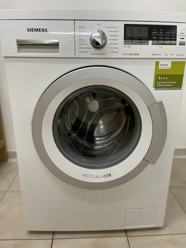 Siemens iQ500 Waschvollautomat ecoEdition Extraklasse WM14Q48ED - Waschen & Bügeln - Bild 1