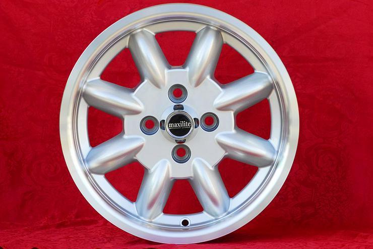 Bild 4: 4 Stk Felgen Mazda MX-5 NA NB Minilite 6x14 ET13 4x100 TUV